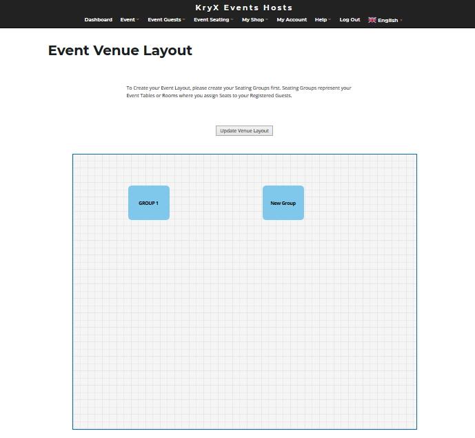 How to Setup Event Venue Layout